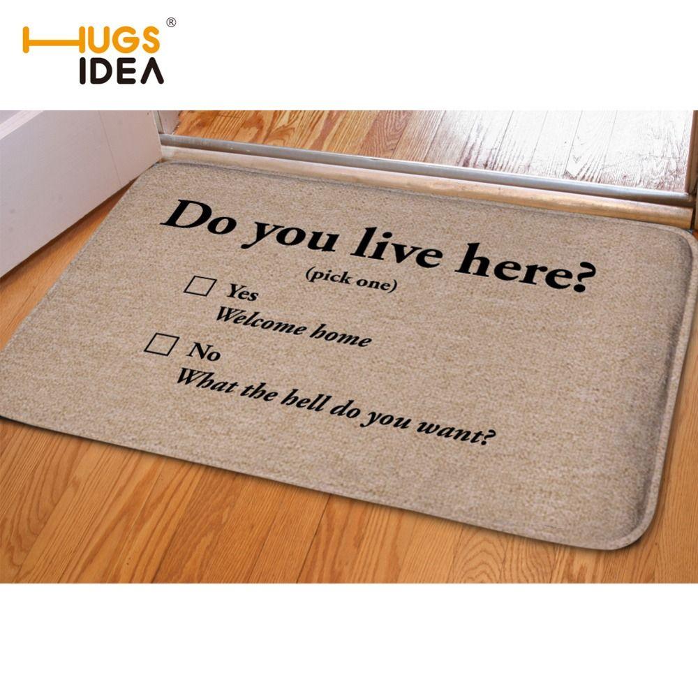 Hugsidea Creative Home Bedroom Kitchen Rugs And Carpets Do You Live