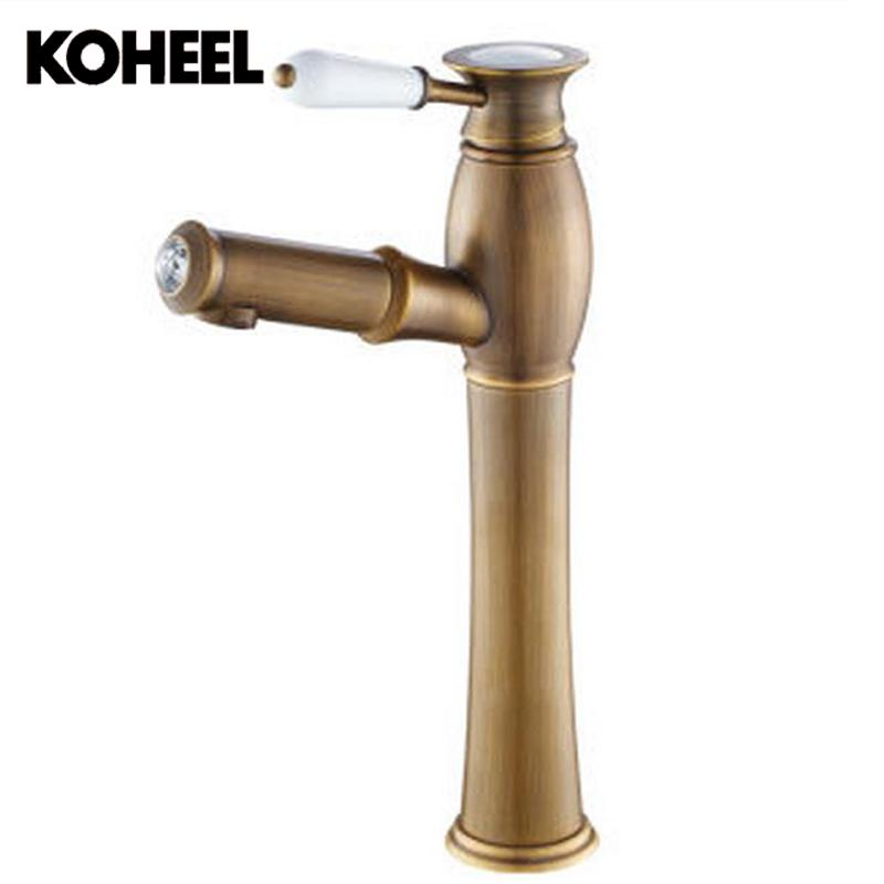 Kitchen Faucets High Level Faucet Diamond Handle Ceramic Paint Pull Out Bronze Kitchen Faucet Mixer Tap With Bathroom Pull Down
