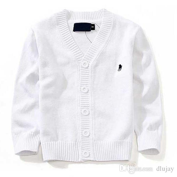 New Children S Top Clothes Brand 100% Cotton Baby Sweater High Quality Kids  Outerwear Girl Sweater Boy Sweater V Neck Polo Sweaters 00001 Girls Summer  ... 4e1c6f137
