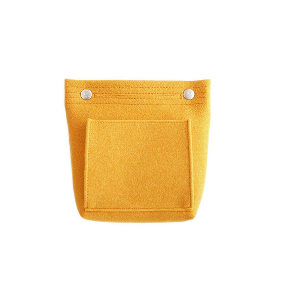 Women Felt Cloth Insert Bag Solid Multifunctional Cosmetic Bag Handbag Makeup Bag Makeup Organizer Ladies Travel Organizer AAA312