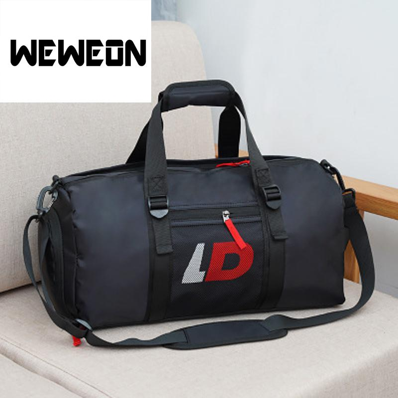 866300c043 2018 New Men And Women General Fitness Bag Dry And Wet Separation Sports Bag  Travel Handbag Luggage Portable Waterproof From Fwuyun