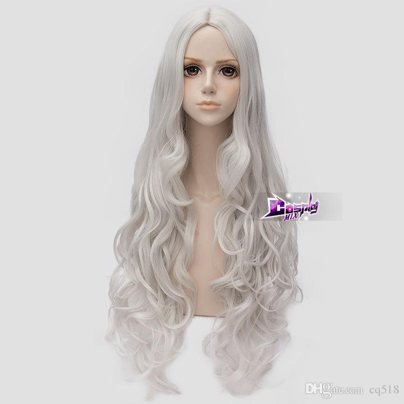 longue perruque blanche
