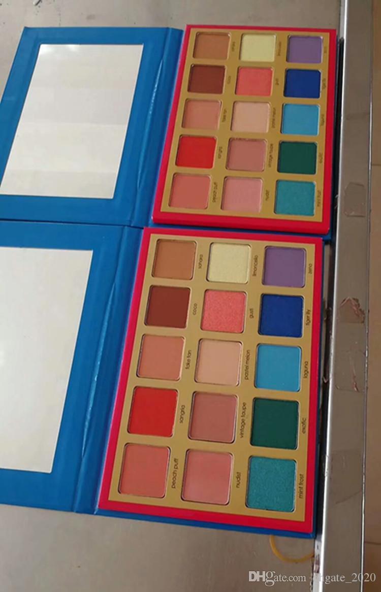 ناتاشا Denona ماكياج لوحة Tropic عينيه مستحضرات التجميل لوحة ظلال لوحة تمييز للفتيات 15 ألوان رخيصة دروبشيبينغ