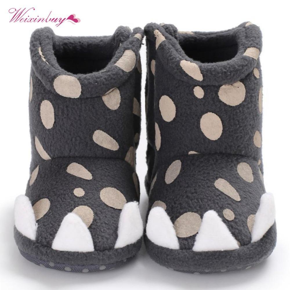 3db1105aa Compre WEIXINBUY Baby Boots Niños Niñas Lindo Monster Claw Baby Boots 2018  Nueva Moda Antideslizante Niño Zapatos Para 0 18M A  38.76 Del Cassial