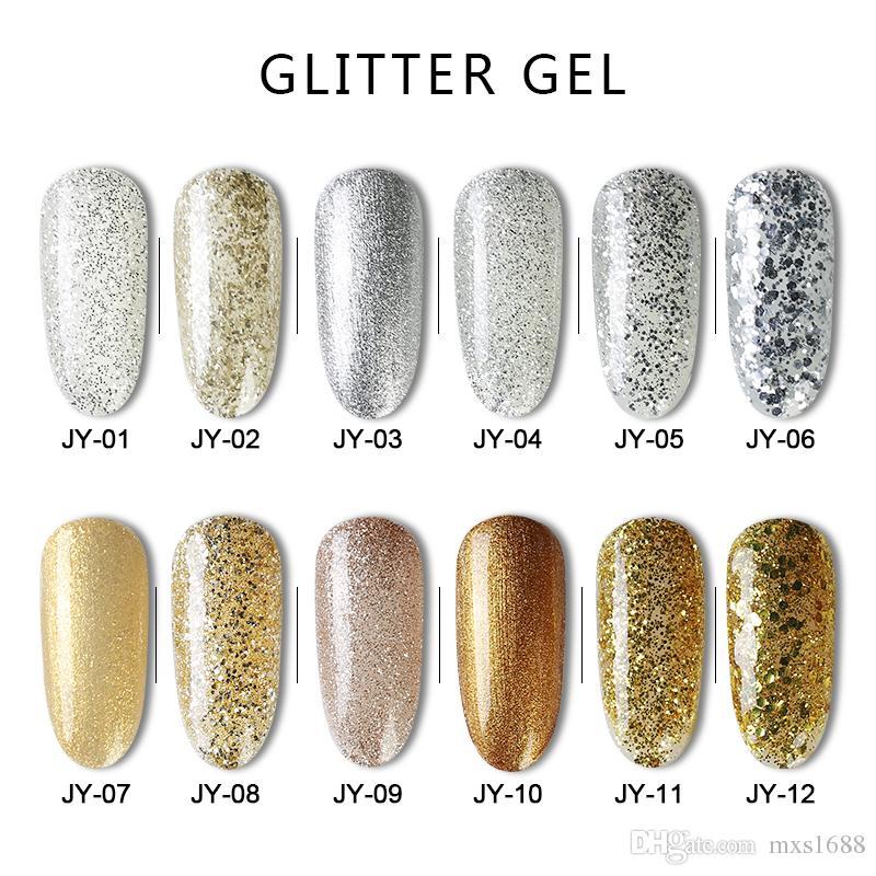 15ML Soak Off Gel UV Makeup Nail Art Soak Off Gel Polish Enamel ...