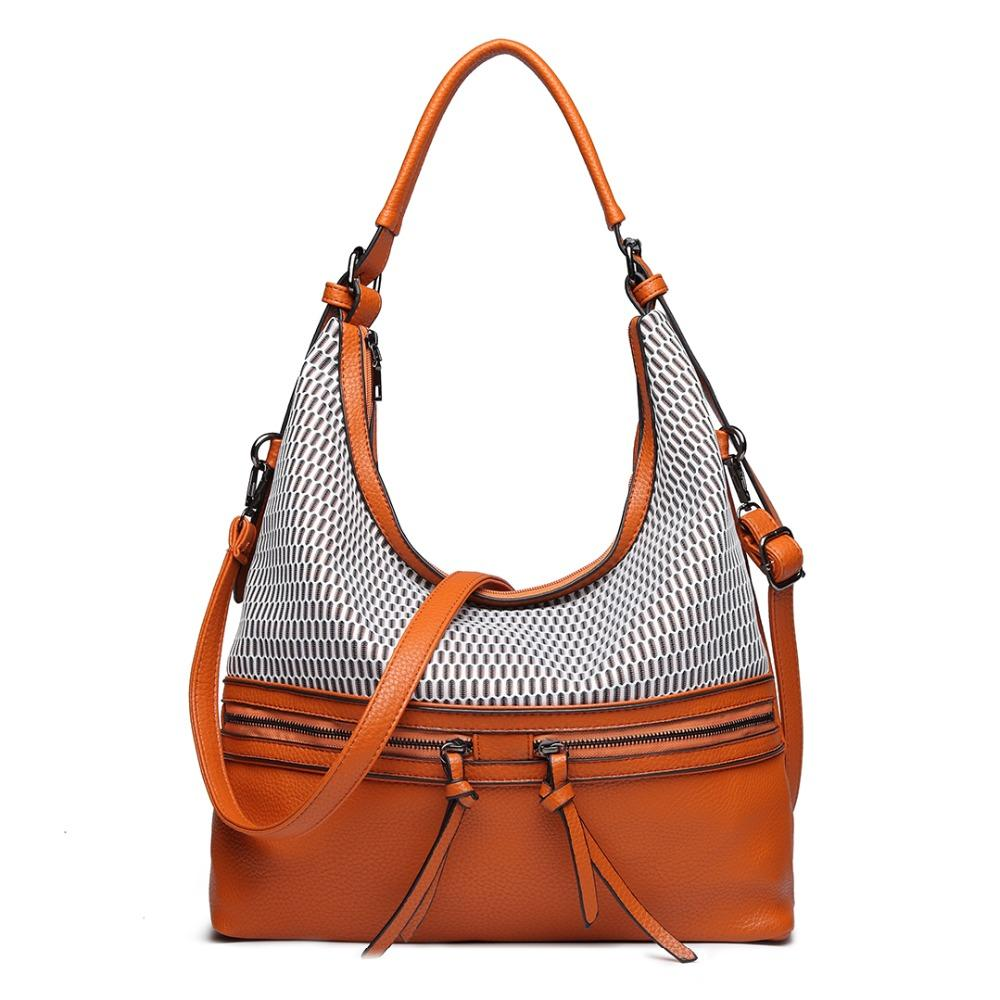 b8bac619de81 Miss Lulu Women Leather Handbags Crossbody Bag Ladies Fashion Messenger  Satchel Hobo Shoulder Bags Female Large Tote YD1853 Mens Messenger Bags  Mens Bags ...