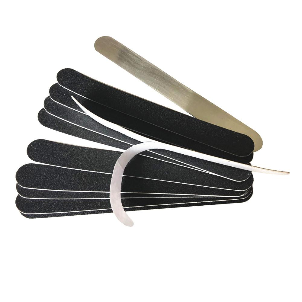 Metal Scraps With Replacement Pads Nail Professional File Removable ...
