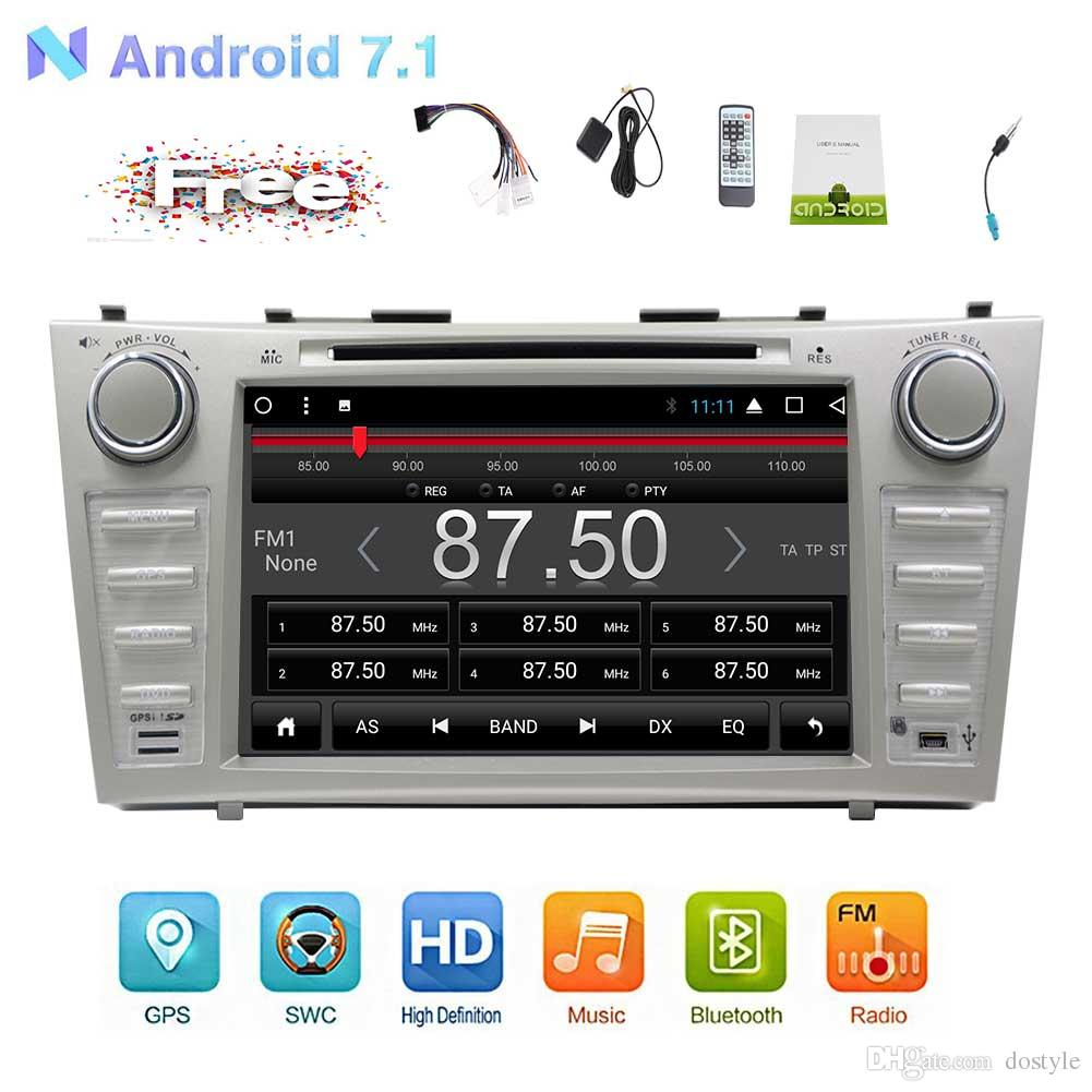 Double Din Car Stereo For Vehicles Toyota Camry 2007 2012 Car Dvd Player  Android 7.1 Octa Core System Car Stereo Gps Navigation In Dash Best Brand  Dvd ...