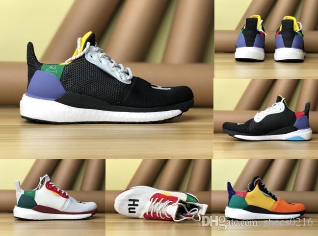 579219f824b 2018 Pharell Williams Human Solar Hu Glide ST Boots Multicolor ...