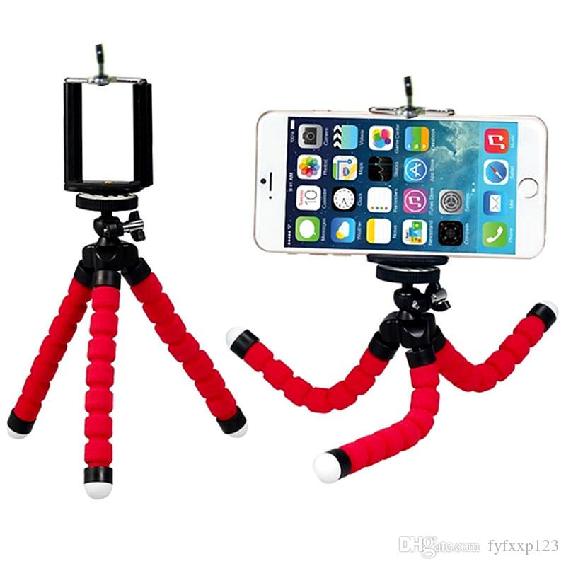 2019 Flexible Octopus Tripod Phone Holder Universal Stand Bracket For Cell Car Camera Selfie Monopod With Bluetooth Remote Shutter From Fyfxxp123