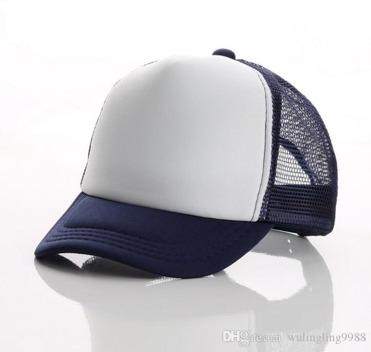 i Cappellino berretti da baseball adulti Cappellini berretto adulti Cappelli camionista in bianco Cappelli snapback Acept Logo su misura 10 pz