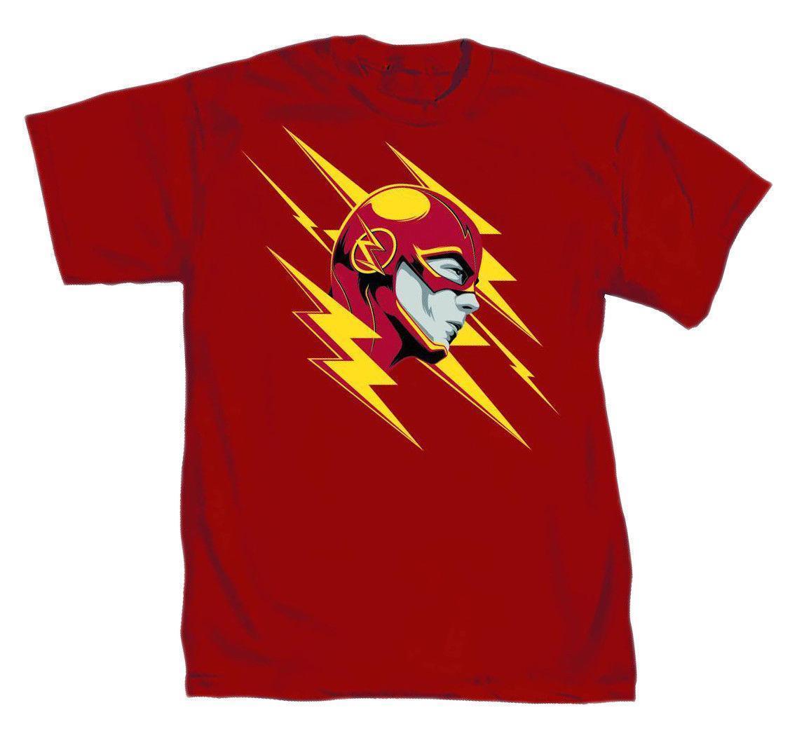 8d8b4db81aa Compre DC Comics The Flash Lightning Fast Para Hombre Camiseta Roja A  $12.08 Del Zhangjingxin05   DHgate.Com