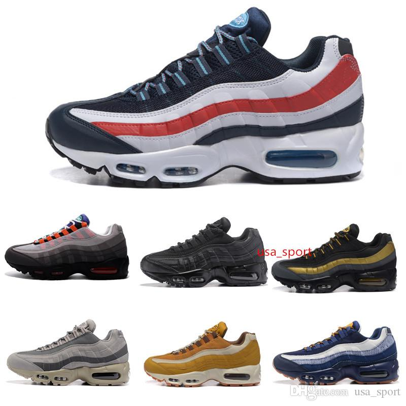 authentic sale online for cheap for sale 2018 New 95 Mens Shoes Sneakers For Women Running Trainers Sports Sneaker Men 95 OG Shock Jogging Walking Hiking Sports Athletic Sneakers pictures OeXcA8xWI