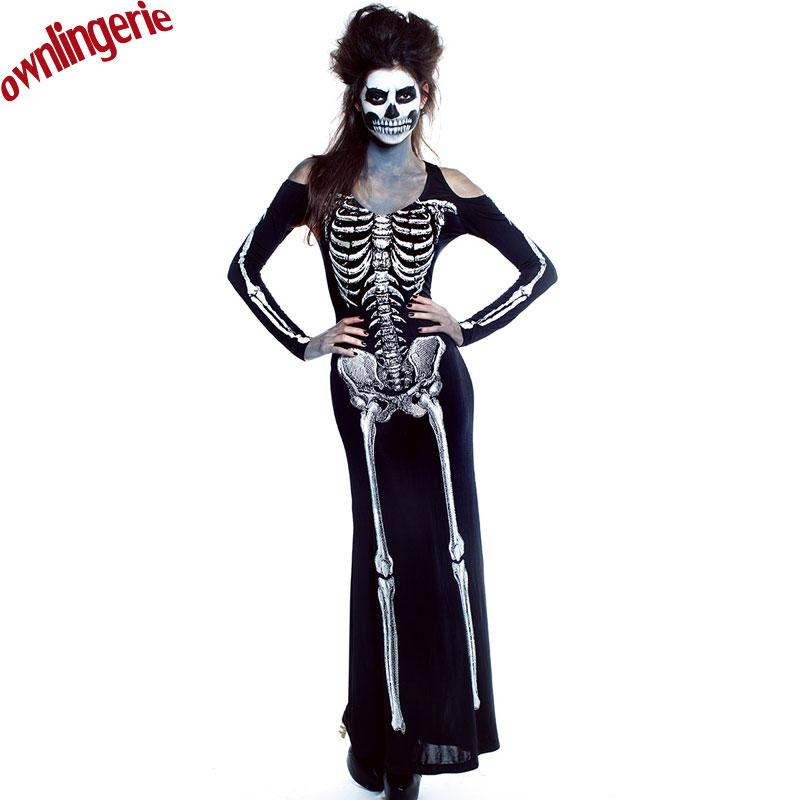 2017 Adult Carnival Halloween Role Playing Costumes Scary Devil Witch Skull  Skeleton Costume Cute Group Costumes Adult Group Halloween Costumes From ...