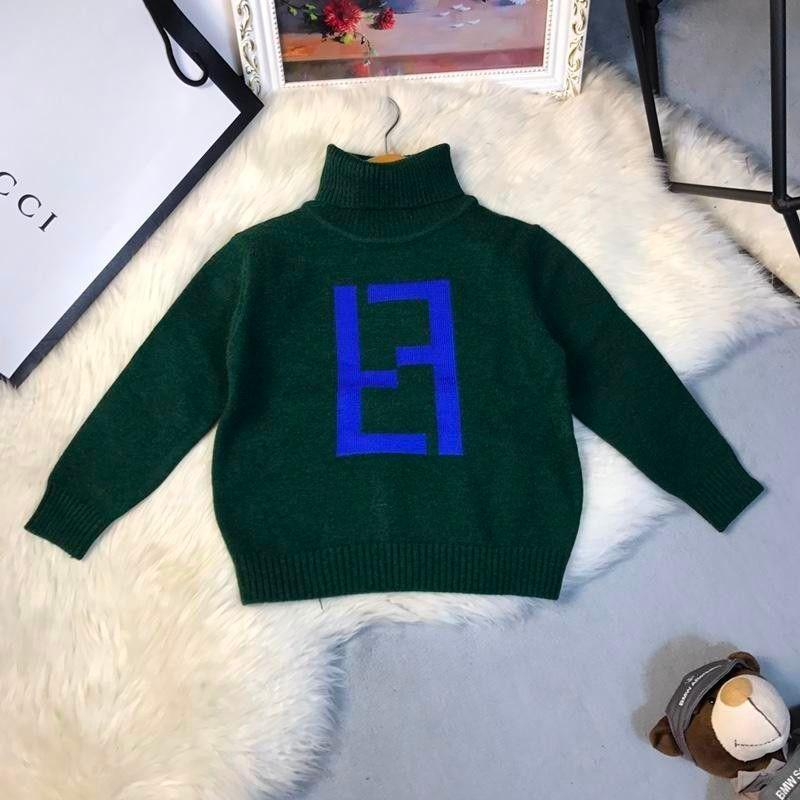 544241ef429e Children Sweater Knitting Jacket 2018 Autumn And Winter Baby Split ...