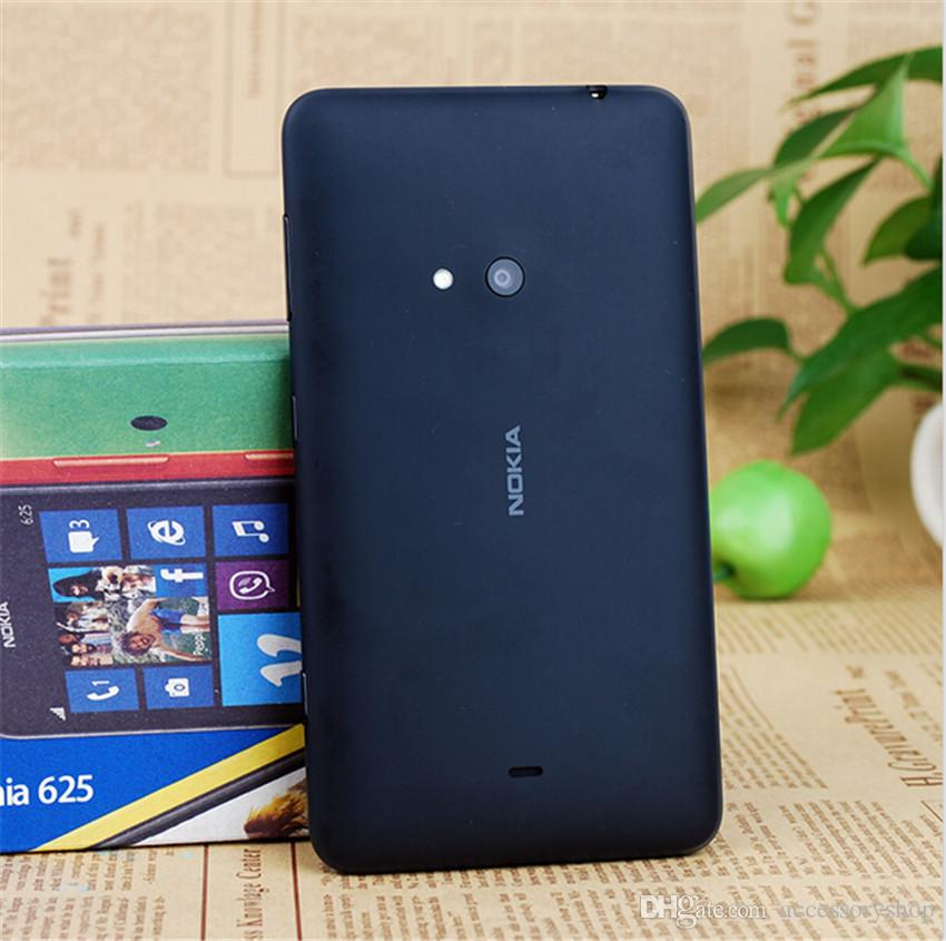 Remodelado original nokia lumia 625 windows phone 4.7 polegada Dual Core 8 GB ROM 5MP Câmera GPS WIFI Desbloqueado Telefone Móvel Inteligente Livre DHL