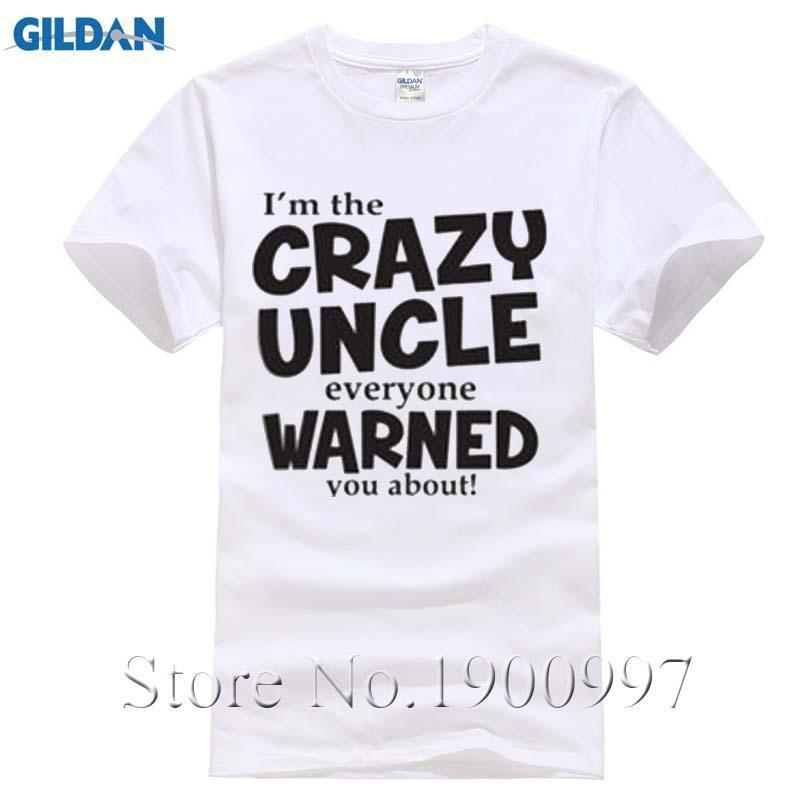 bf7385a47f 100% Cotton Men's T Shirt Uncle Everyone Was Warned About Funny T Shirt  Cute Holiday Gift For Uncle Funny Family Casual Shirt