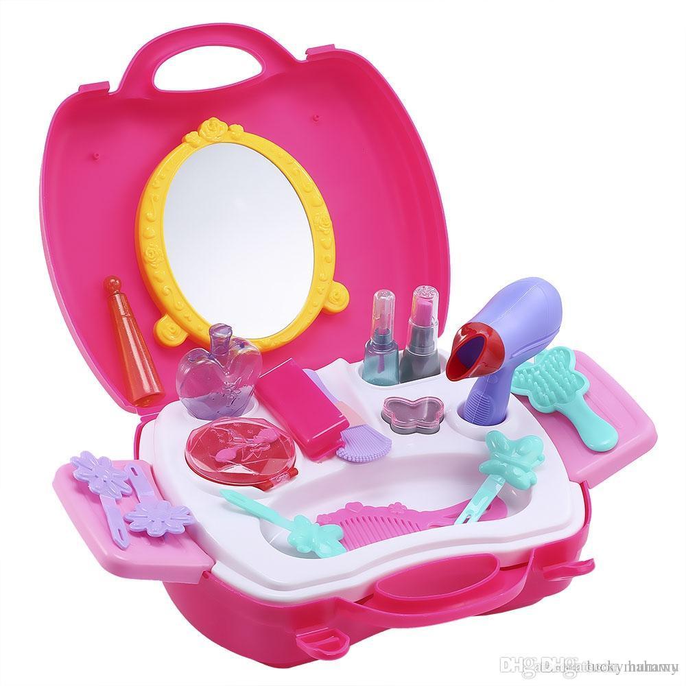 Compre Muebles Clásicos Juguetes Para Niños 21 Unids Maquillaje ...