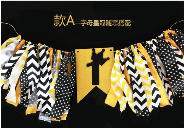 Grosshandel Baby Ersten Geburtstag Stuhl Banner Ein Jahr 1