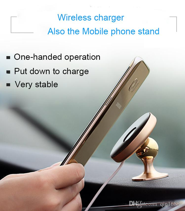 2018 New Model Mobile Phone Charger/Phone Holder/Vehicle Wireless Charger for Smartphones it is convenient for your life