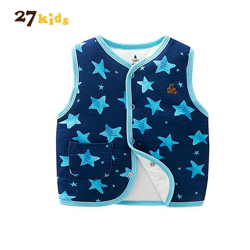 90df8ed52 27kids Baby Vests Clothes Kids Cotton Jacket Infant Baby Clothing ...