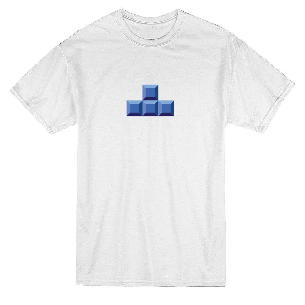 198f4adb6c Tetris Love Matching Couple Graphic Men'S T Shirt Mens 2018 Fashion Brand T  Shirt O Neck 100%cotton T Shirt Tops Tee Custom Funny Team Shirts Trendy T  ...