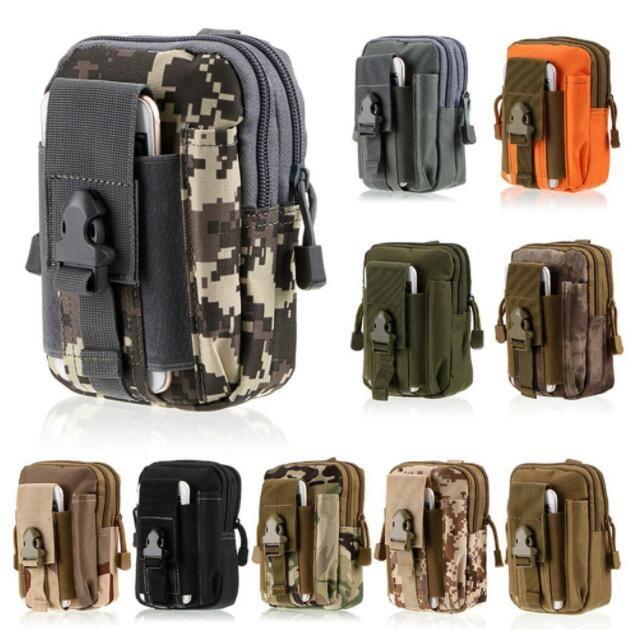 38d4597824f Accesorios Movil Para IPhone / Samsung / LG Funda Táctica Universal Al Aire  Libre Militar Molle Hip Cinturón De La Cintura Del Bolso De La Cartera De  La ...
