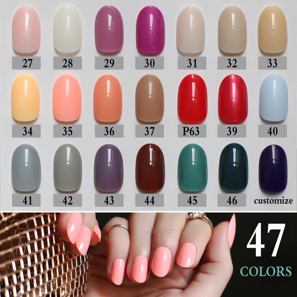 New Product Brow Sales Nude Color False Nails Blue Long Rose Red ...