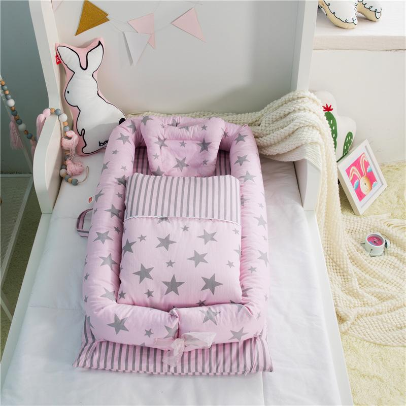 Home Textile Baby Bed Set Boys Girls Newborn Gift Dinosaur Bedding Set  Removeable And Washable Bed Linens For Kid Child Black And White Duvet Sets  Blue ...