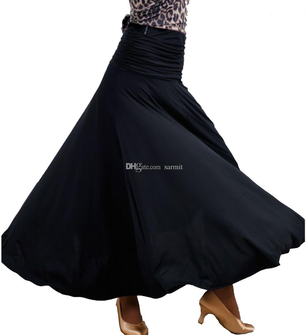 3a5896b15ea4 2019 Ballroom Dance Skirts Women Waltz Flamenco Dance Skirt Ballroom Dance  Dresses DB035 Big Hem Fashion Skirt From Sarmit, $43.32 | DHgate.Com