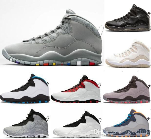 14e2af32f163 10 10s Mens Basketball Shoes Westbrook New Cement I M Back Bobcats Chicago  Cool Grey Powder Blue Steel Grey Black Men Sports Sneakers Shoes Baseball  Shoes ...