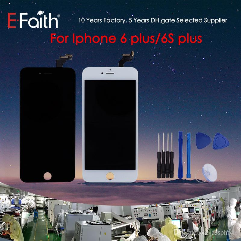 half off f8569 10dd0 Grade A +++ LCD Display For iPhone 6 Plus/6S Plus LCD Touch Screen  Digitizer Replacement Parts For iPhone 6S Plus & Free Shipping