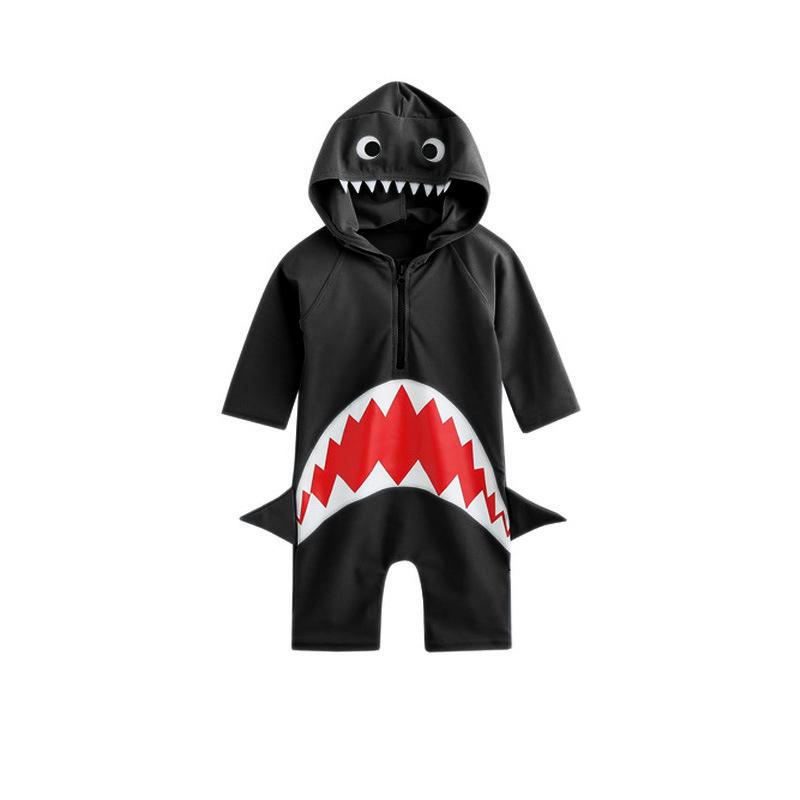 26384f7b905d7 2019 Baby Swimsuit Baby Boy Swimwear Infant Baby Bathing Suit Swimming Pool  Clothing Animal Sharks 3M To 24M Swimsuit Toddler Summer Clothes From ...