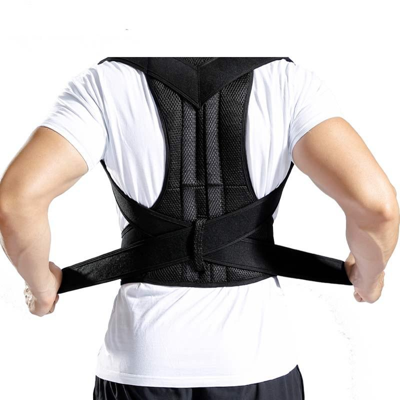 2da27c7dbb 2019 Back Posture Corrector Shoulder Lumbar Brace Spine Support Belt  Adjustable Adult Corset Posture Correction Belt Waist Trainer From  Peachguo