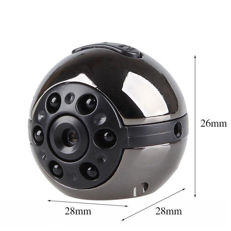 SQ9 Mini Camera 1080P HD Video Recorder Infrared Night Motion Detection Micro Camera 360 Degree Rotation Digital Camera