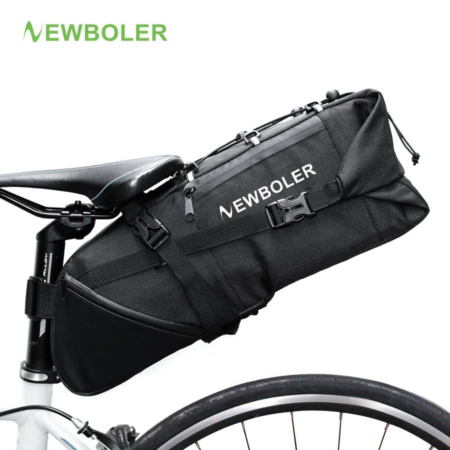 6df00fe2108 2019 Wholesale 2018 Bike Bag Bicycle Saddle Tail Seat Waterproof Storage  Bags Cycling Rear Pack Panniers Accessories 10L Max From Zhanhauout