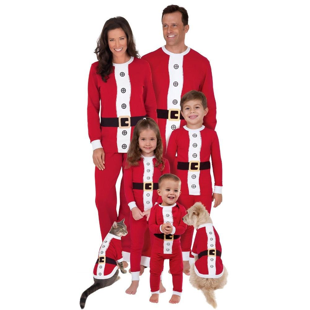b419862d26 Christmas Family Matching Pajamas Red And White Clothing Sets Adult Kids  Women Christmas Santa Claus Nightwear Matching Mother Son Outfits Family  Photo ...