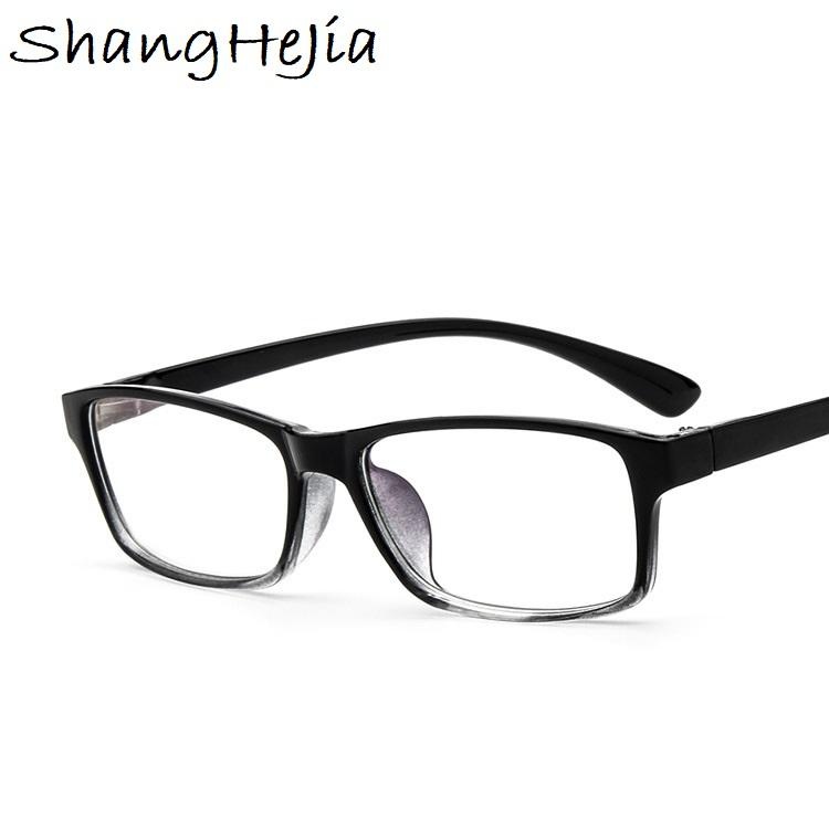 9c5e9647cf 2019 2018 Fashion Men Glasses Frame Women Eyeglasses Frame Vintage Square  Clear Lens Glasses Optical Spectacle From Marquesechriss