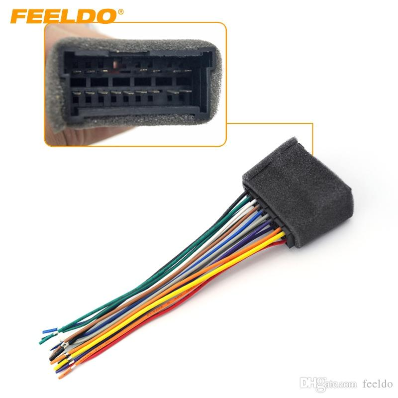 2019 Feeldo Car Oem Audio Stereo Wiring Harness Adapter