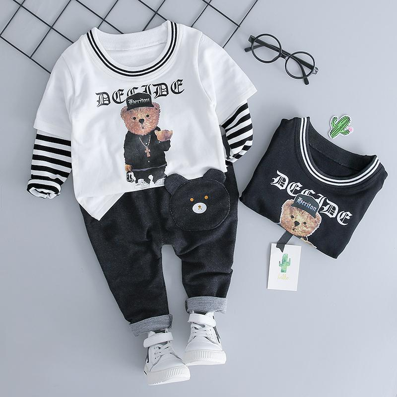 7f8c8441003c 2018 Autumn Baby Clothing Sets Boy Girl Clothes Suits Infant Cotton ...