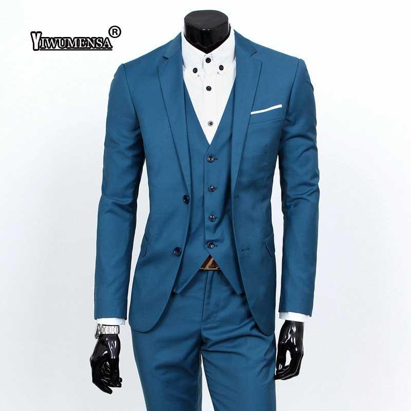 edb3e2e6d25 2019 Yiwumensa 2019 Custom Made Mens Suits Wedding Groom Jacket+Pant+Vest Plus  Size Mens Suit Dress Suits Latest Coat Pant Designs From Modleline