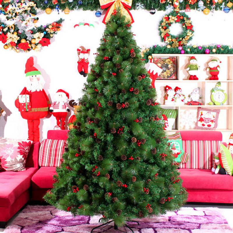 christmas new year preferred 3 m 300cm large christmas tree factory outlets echinacea mixed pine needles items christmas decor christmas decor for home - Christmas Decorations Factory Outlet