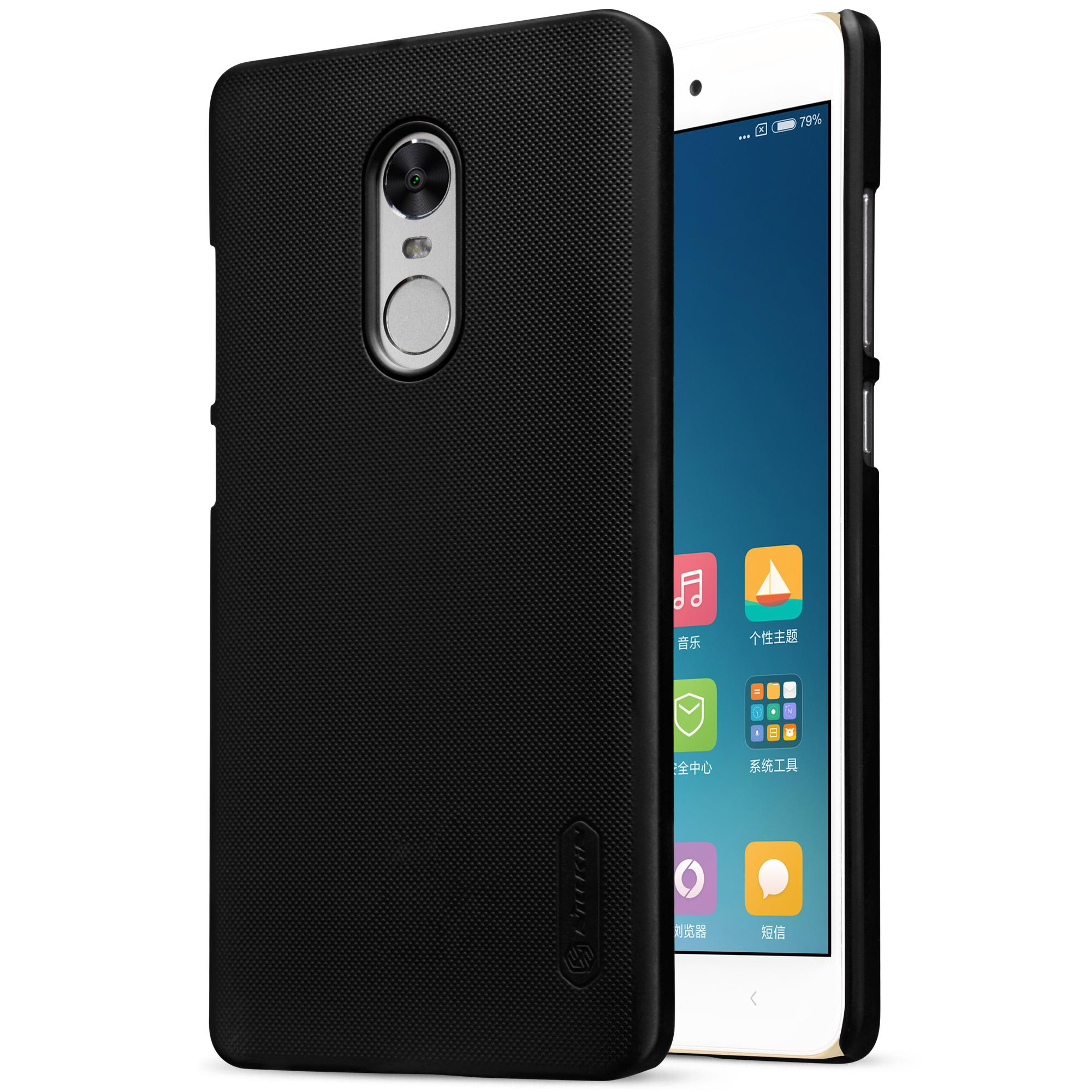Xiaomi Redmi Note 4x Hulle Redmi Note 4 Hulle Nillkin Super Frosted Shield Hulle Fur Redmi 4pro Free Hd Film