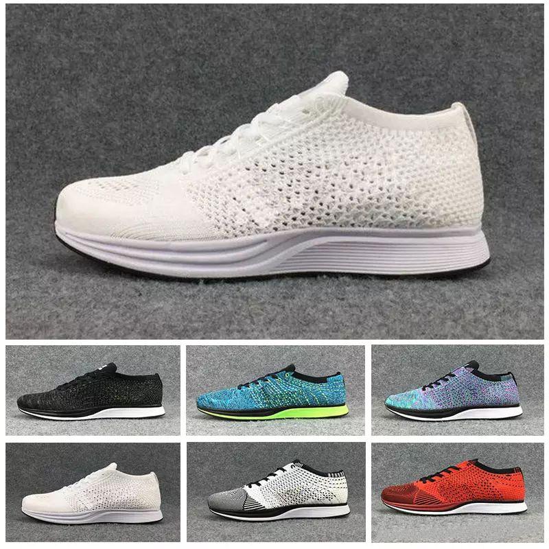 Billig Nike Socken Racer Flyknit Trainers In Grün | Schuhe