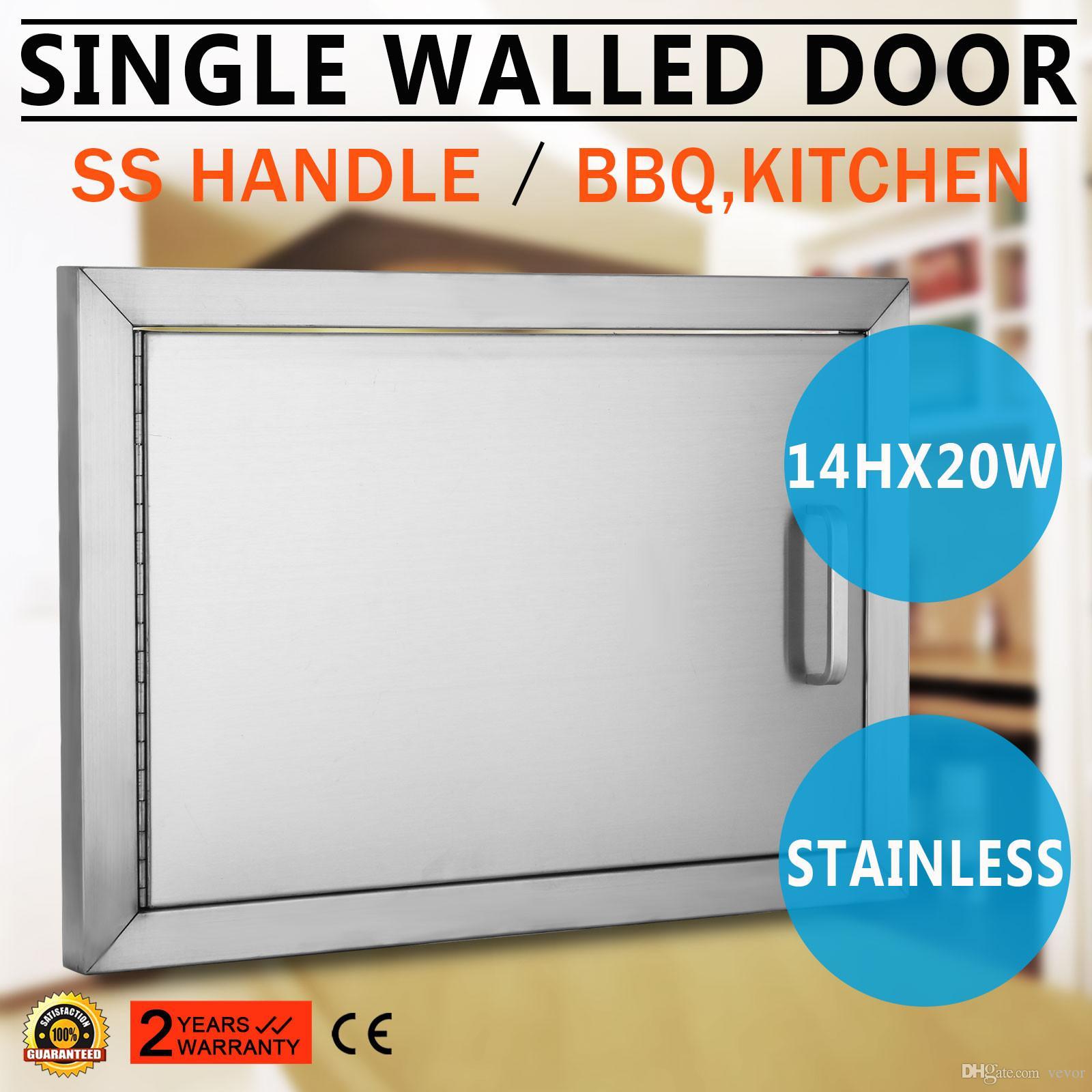 2018 Bbq Doors 20\WX 14\H Stainless Steel Access Door Horizontal Single Door With Combo Door Handle From Vevor $110.56 | Dhgate.Com  sc 1 st  DHgate.com & 2018 Bbq Doors 20\WX 14\H Stainless Steel Access Door Horizontal ...