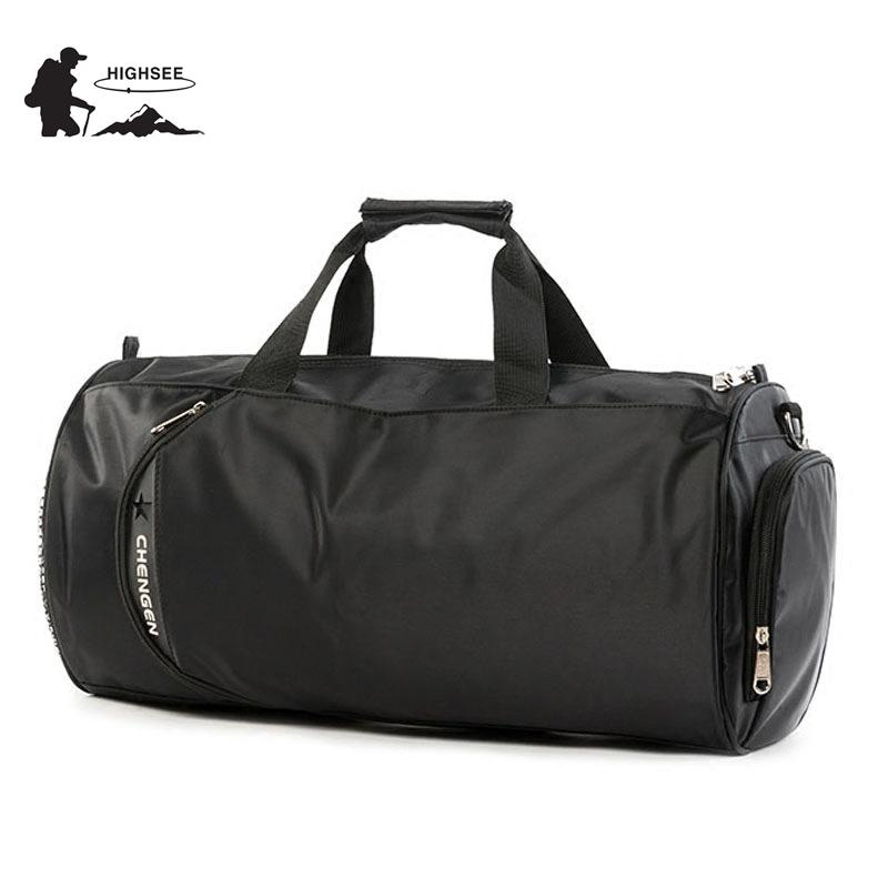 fd0f6515137f HIGHSEE Training Bag For Gym Men Large Sport Bag Men For Fitness Sport  Shoes Waterproof Fitness Gym Women Sac De Bag Women Bag Camping Bag Bag  Online with ...