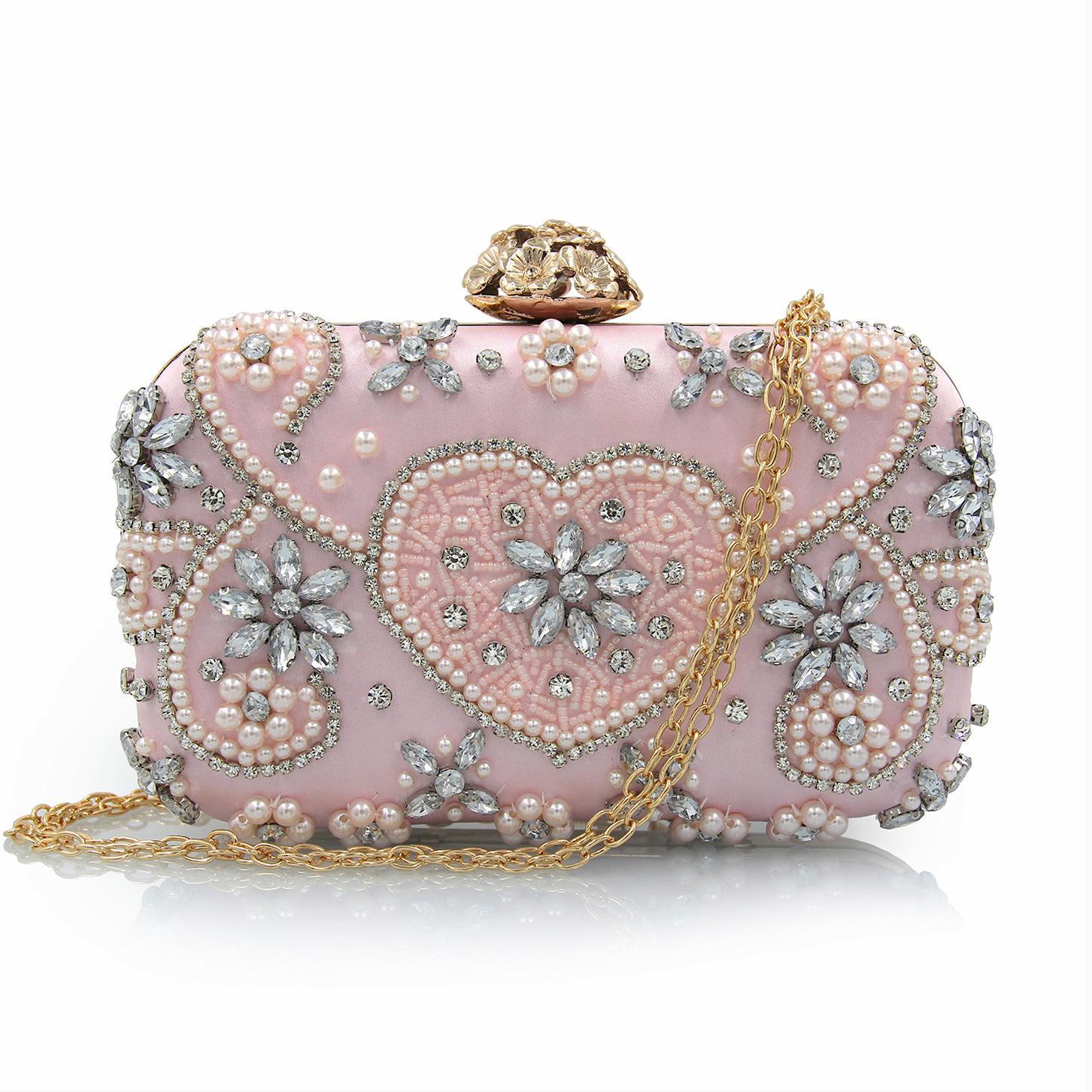 88650d329676 Fashion Crystal Clutches Evening Bags Women Party Purse Luxury Clutch Bag  Ladies Night Bags Wedding Bag Chain Handbags Bridal Garment Bags Bridal  Shower ...