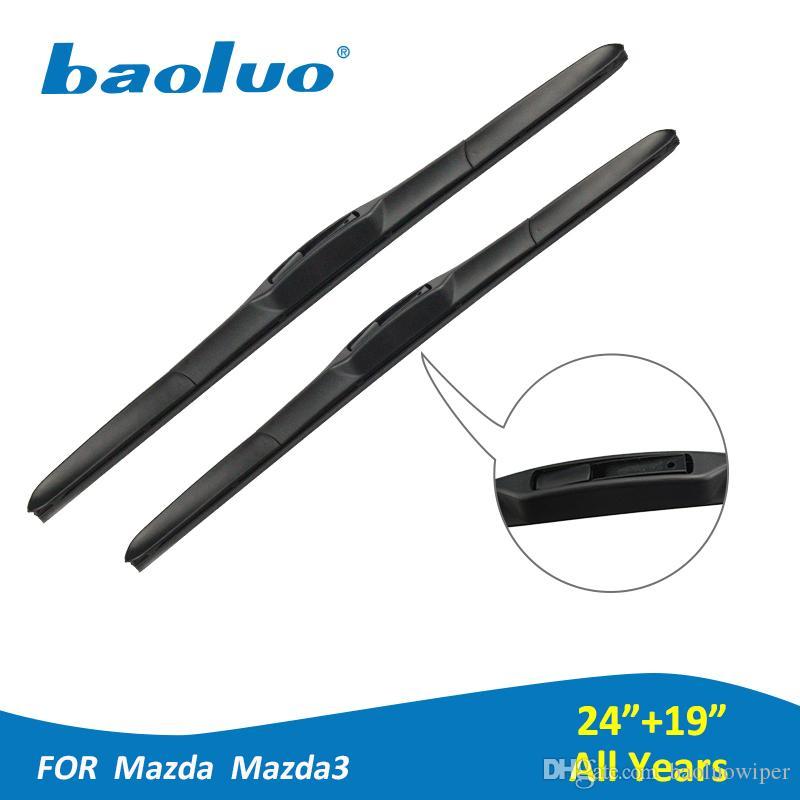 2018 Baoluo Car Windshield Wiper Blades For Mazda 3 24+19 Soft Natural  Rubber Windscreen Wipers Auto Accessories From Baoluowiper, $14.82 |  Dhgate.Com