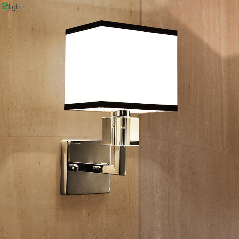 Online Cheap Modern Chrome Metal Led Wall Lamp Lustre Crystal ...