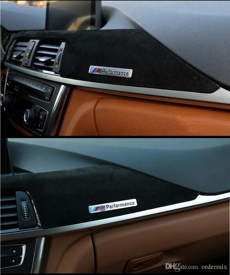 M 퍼포먼스 모터 스포츠 금속 로고 자동차 스티커 알루미늄 엠블럼 그릴 BMW E34 E36 E39 E53 E60 E90 F10 F30 M3 M5 M6 용
